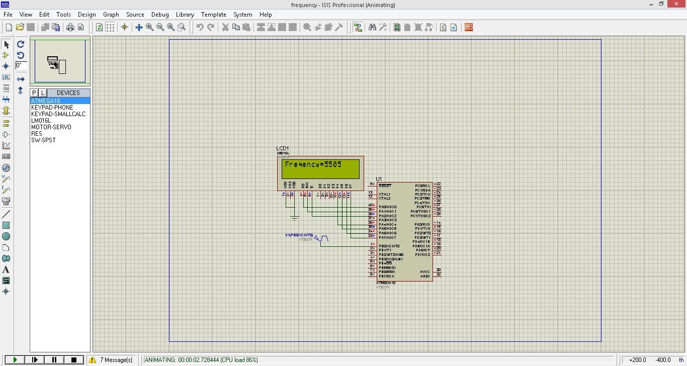 فرکانس متر با ATMega16