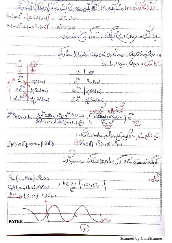 جزوه ریاضی مهندسی خادمی