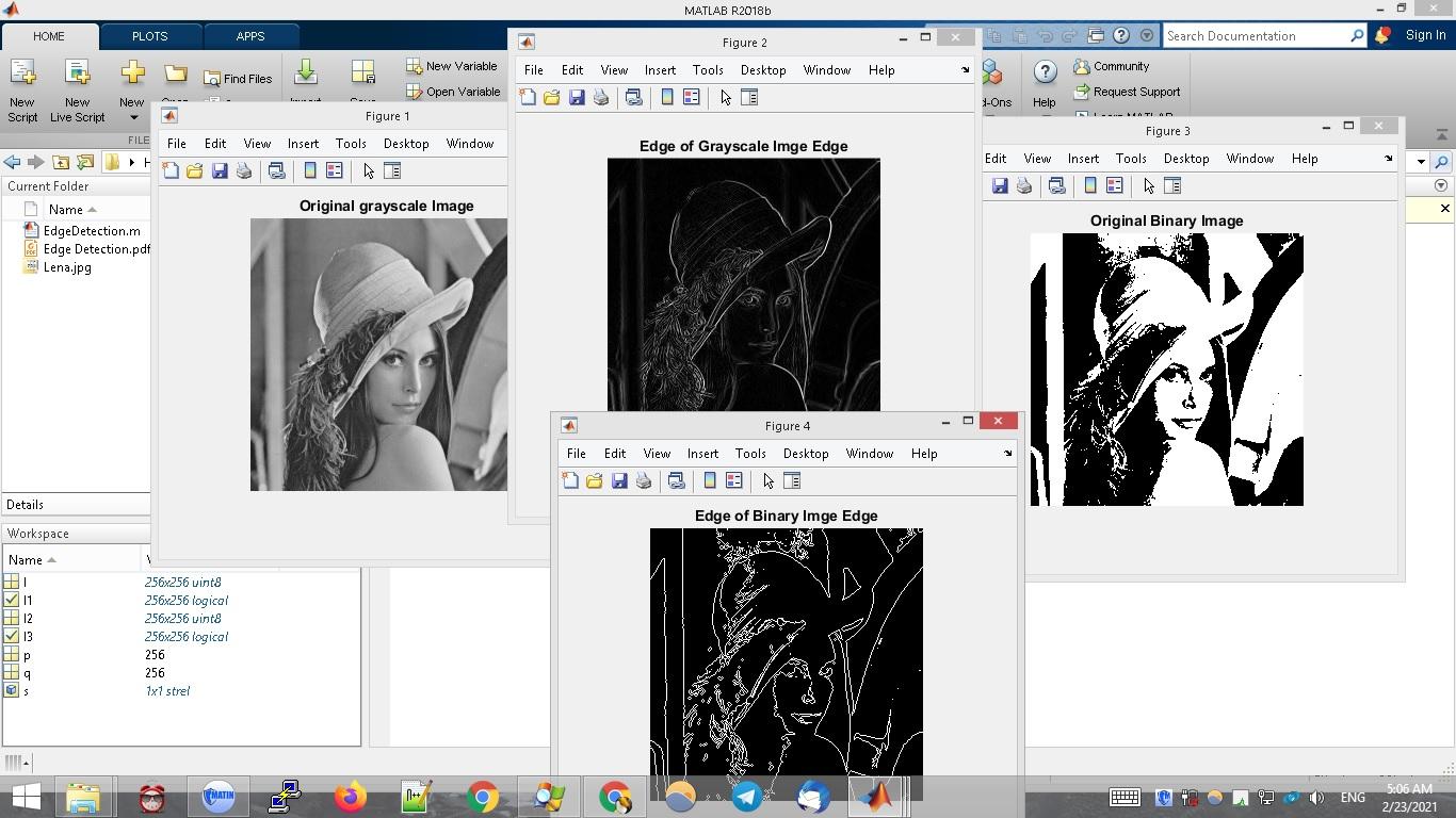 پروژه پردازش تصویر در متلب – لبه یابی مورفولوژی