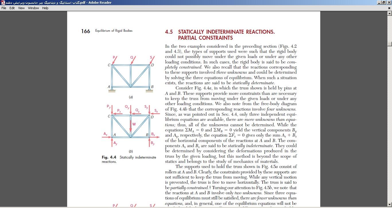 کتاب استاتیک و دینامیک بیر جانسون ویرایش دهم