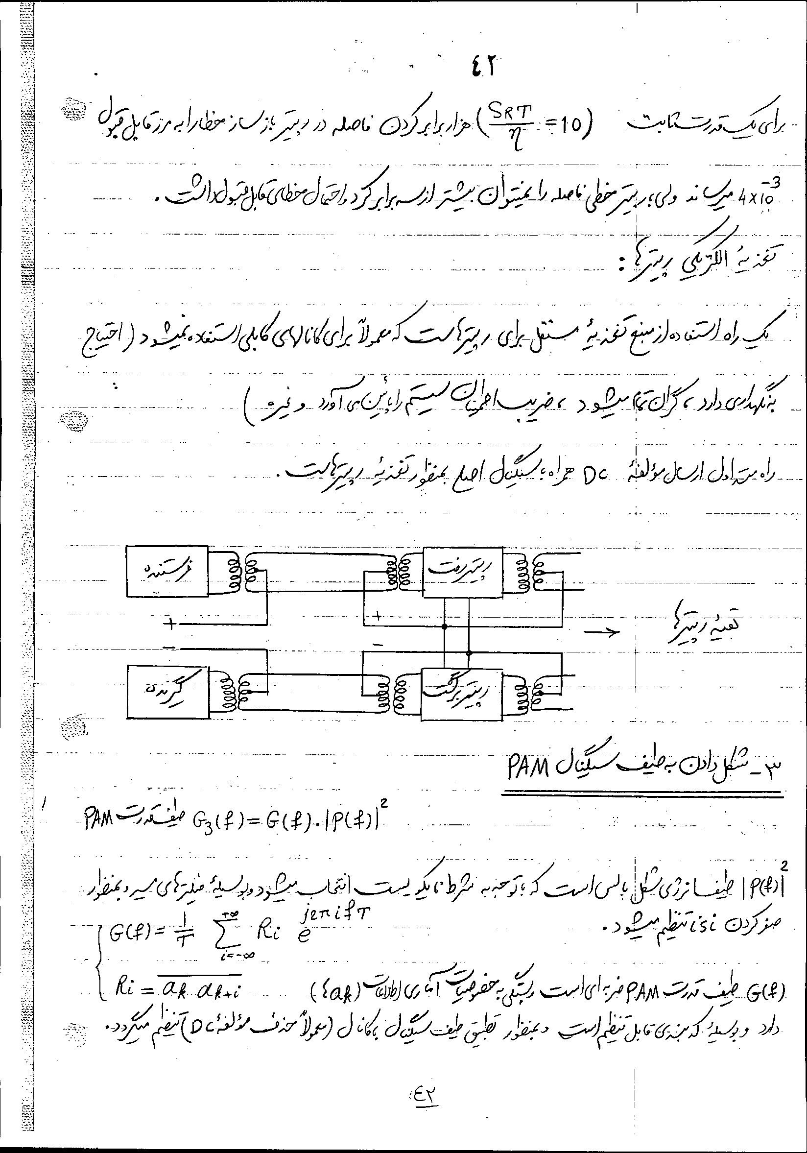 جزوه درس مخابرات دیجیتال دانشگاه تهران