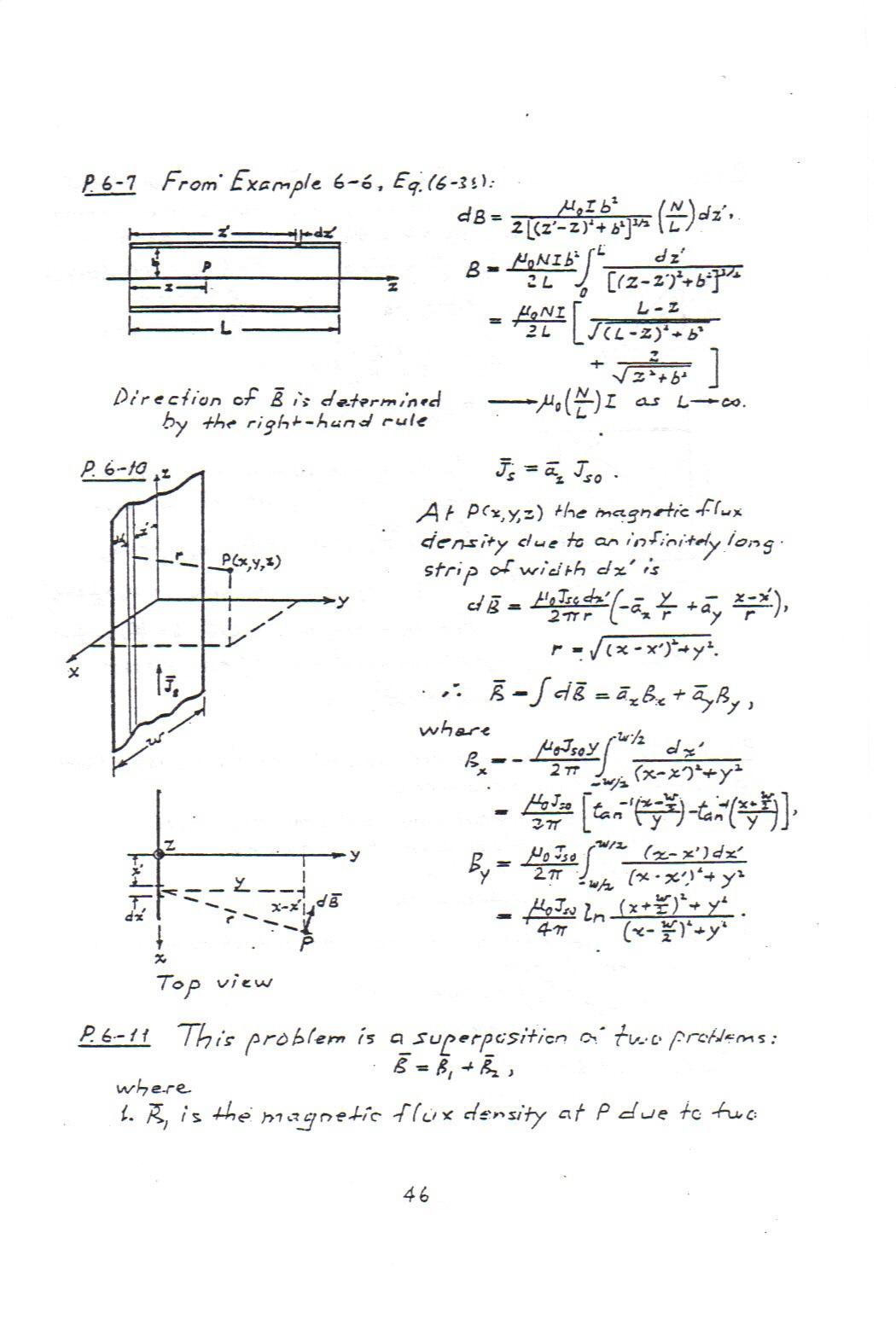 حل المسائل الکترومغناطیس چنگ مهندسی برق