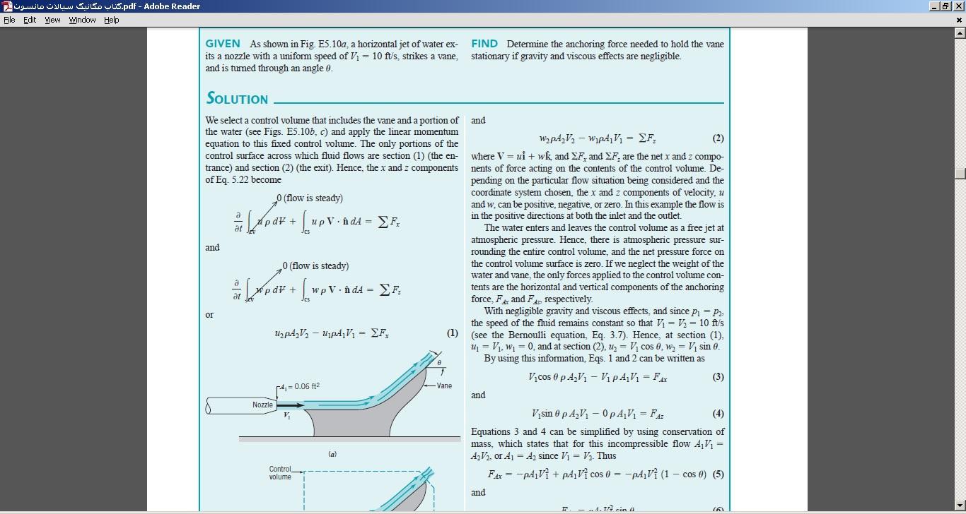 کتاب مکانیک سیالات مانسون