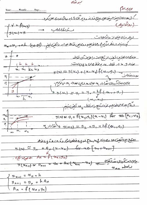 جزوه کامل معادلات بحرینی