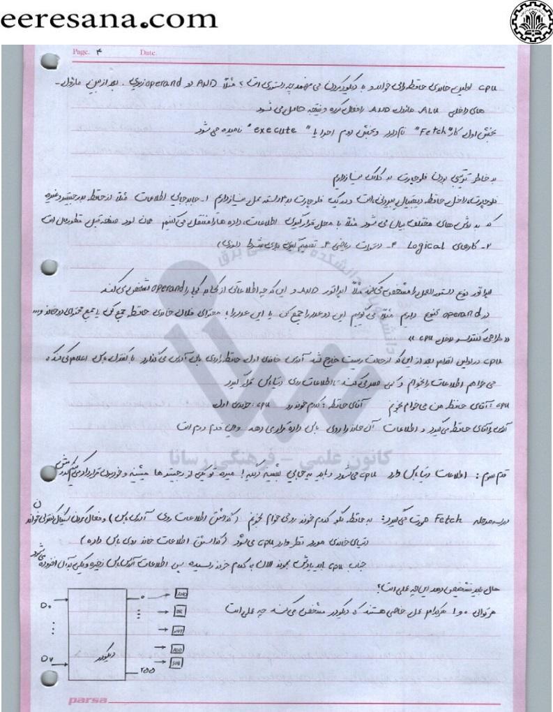 دانلود جزوه میکروپروسسور باقری دانشگاه صنعتی شریف